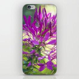 Floral Print 093 iPhone Skin