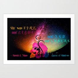 Fire & Light & Ash & Embers Art Print