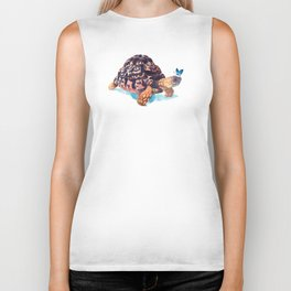 Tortoise and Butterfly Biker Tank