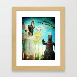 A Little Magic Framed Art Print