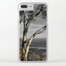 Major Mitchell Lookout Mount Macedon Clear iPhone Case