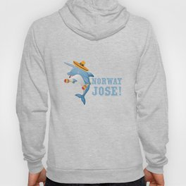 Norway Jose Mexico Mexican Food Tacos Nachos Whale Narwhal Lovers Gift Hoody