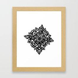 Crystal Flower  Framed Art Print