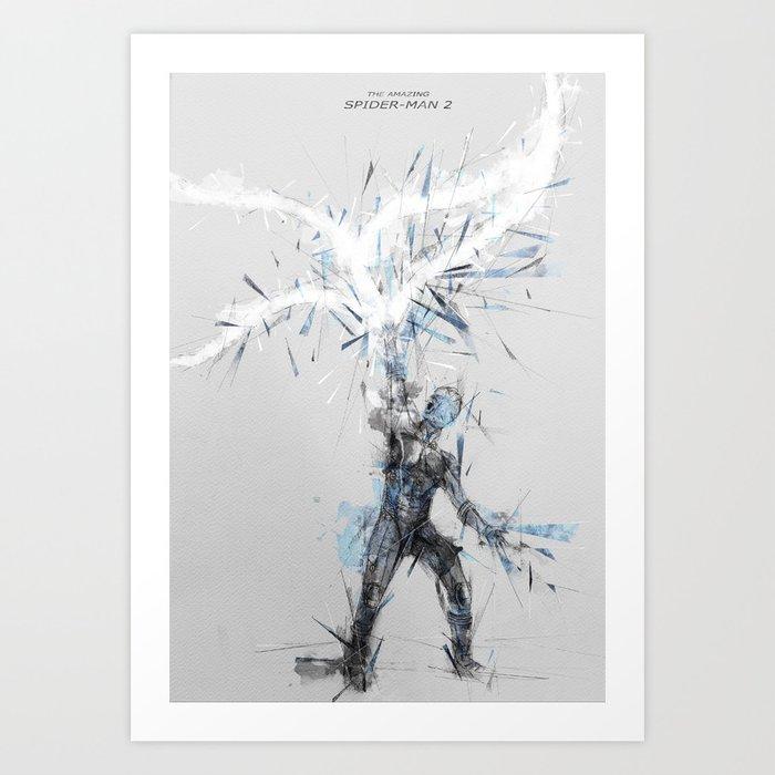 Amazing Spider Man 2 Movie Poster Art Print By Bigcookben
