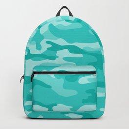 Aqua Camo Backpack