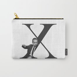 Malcolm X Typography Carry-All Pouch