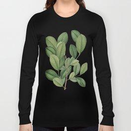 Verdant Leaves Long Sleeve T-shirt