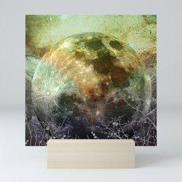 MOON under MAGIC SKY X-1 Mini Art Print