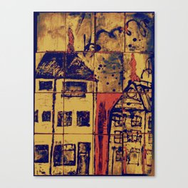 Up On A Roof #4: from children will play.  Canvas Print