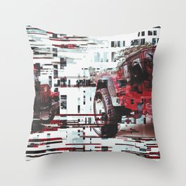 re:jeep Throw Pillow