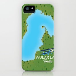 Wular Lake India iPhone Case