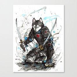 Year of the Dog...Samurai! Canvas Print