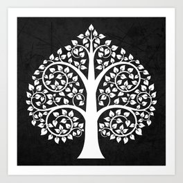 Bodhi Tree0104 Art Print