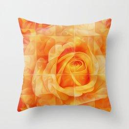 Roze Throw Pillow