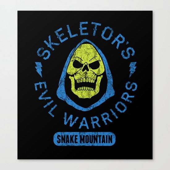 Bad Boy Club: Skeletor's Evil Warriors  Canvas Print