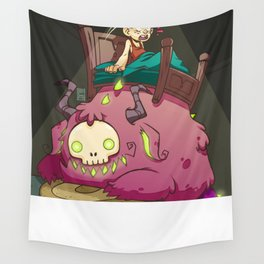 A monster under my bed! Wall Tapestry