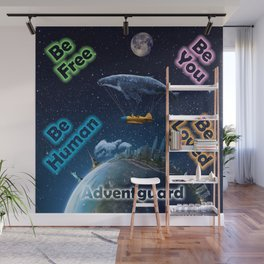Advent Guard Earth Tranquil Whale Aspect Wall Mural