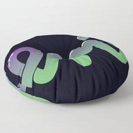 Just Plain Evil Floor Pillow