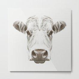 Cow Sym Metal Print