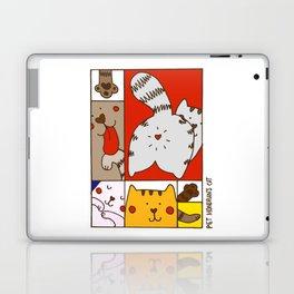 Mondrian's Cat Laptop & iPad Skin