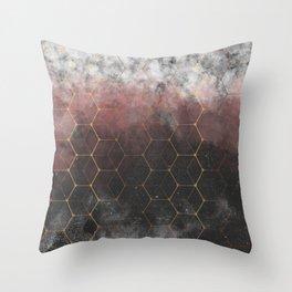Concrete Skyline Throw Pillow