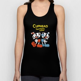 cuphead hero drink Unisex Tank Top