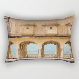 Arches of Perception Rectangular Pillow
