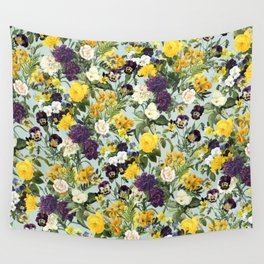 Floral C Wall Tapestry