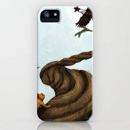 Ratatosk and the Eagle iPhone Case