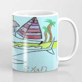 White Whale Village Coffee Mug