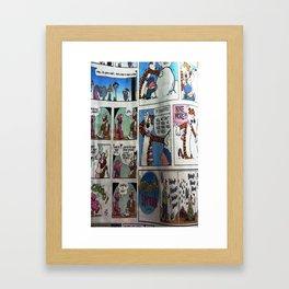 Comic Style Framed Art Print