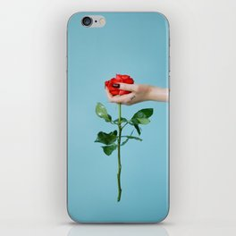 rose/oil iPhone Skin
