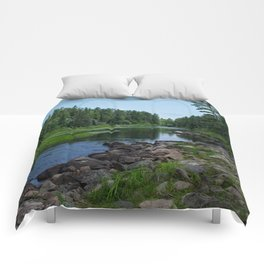 Boundary Waters River Comforters