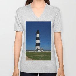 Bodie Island Lighthouse Unisex V-Neck
