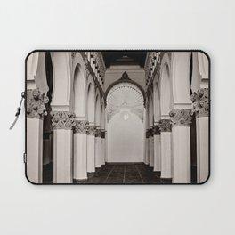 The Historic Arches in the Synagogue of Santa María la Blanca, Toledo Spain (4) Laptop Sleeve