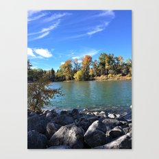 Autumn Bow Canvas Print
