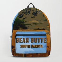 Bear Butte South Dakota Backpack