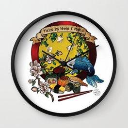 Soy Mates Wall Clock
