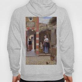 "Pieter de Hooch ""The Courtyard of a House in Delft"" Hoody"