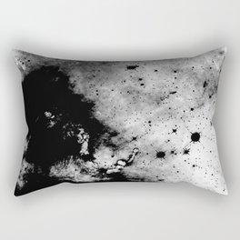 War - Abstract Black And White Rectangular Pillow