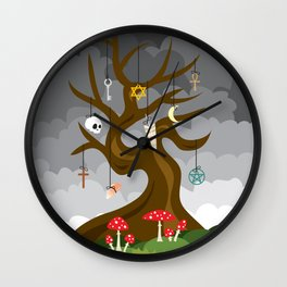 Hierophant Wall Clock