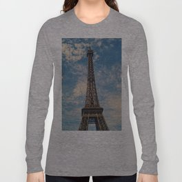 Eiffel Tower, Paris (Portrait) Long Sleeve T-shirt