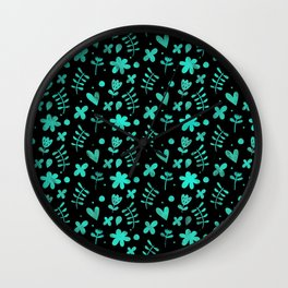 Colorful Lovely Pattern XVII Wall Clock