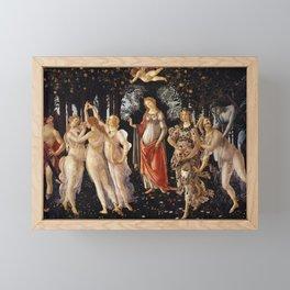 Primavera, Botticelli Framed Mini Art Print
