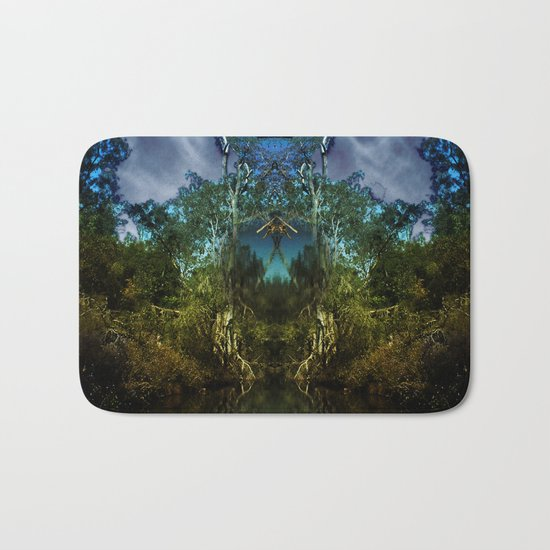 Open the door to fantasy and breathe deeply of the mystery Bath Mat