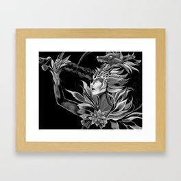Wolf Goddess Framed Art Print