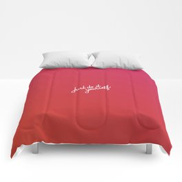 Just do it yourself   [gradient] Comforters