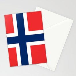 Norway Flag Norwegian Patriotic Stationery Cards
