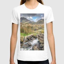 Tryfan Mountain River T-shirt