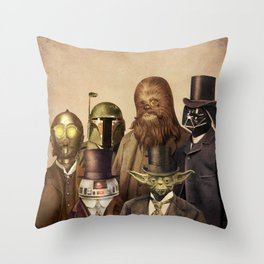 Victorian Wars Throw Pillow